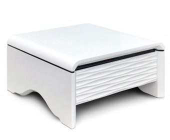 Журнальный столик 3D-Modo Quadro (Bright White)